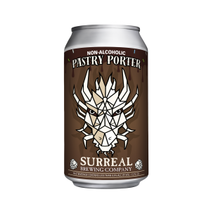 NA Beer Pastry Porter Surreal Brewing Co.