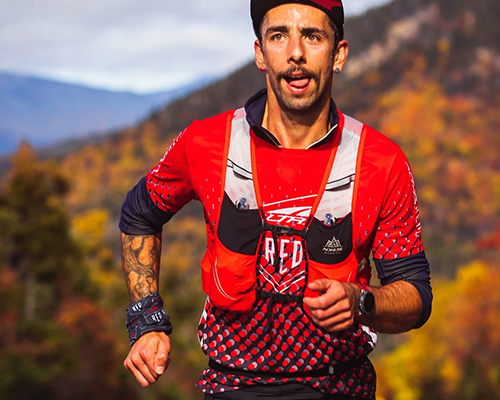 Surreal Brewing Tribe Member Adam out for a run