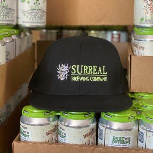 Surreal Brewing Non-alcoholic craft beer hat
