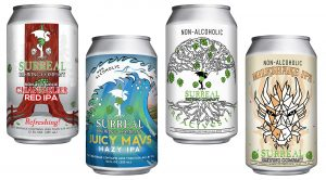 Non-Alcoholic Craft Beer Surreal Brewing IPA Pack