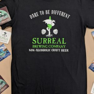 Surreal Brewing Non-alcoholic craft beer t-shirt