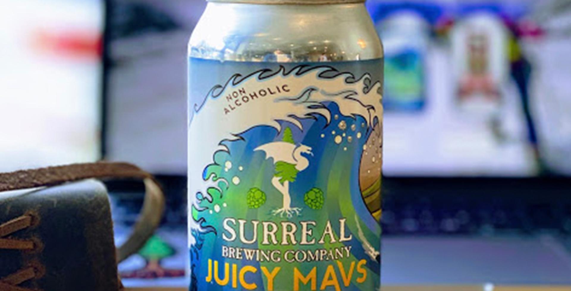 Non-alcoholic Craft IPA Juicy Mavs Can