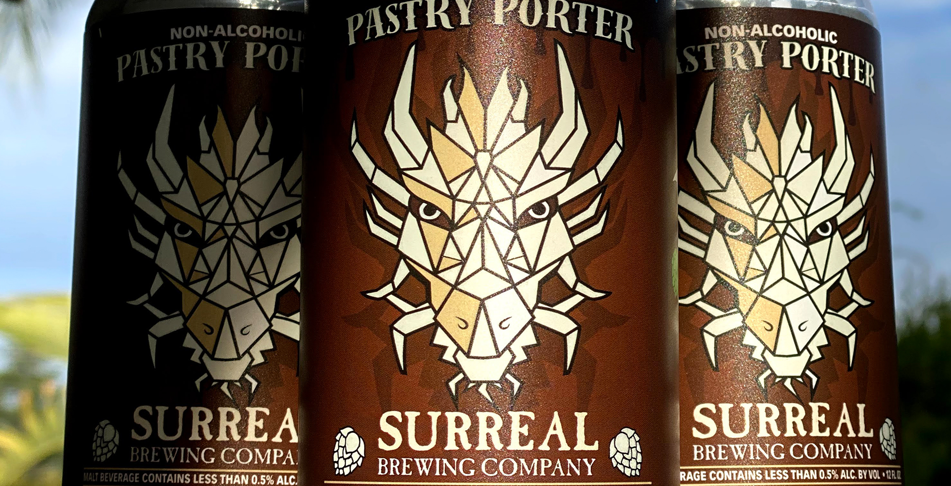 Can of Pastry Porter Non alcoholic IPA