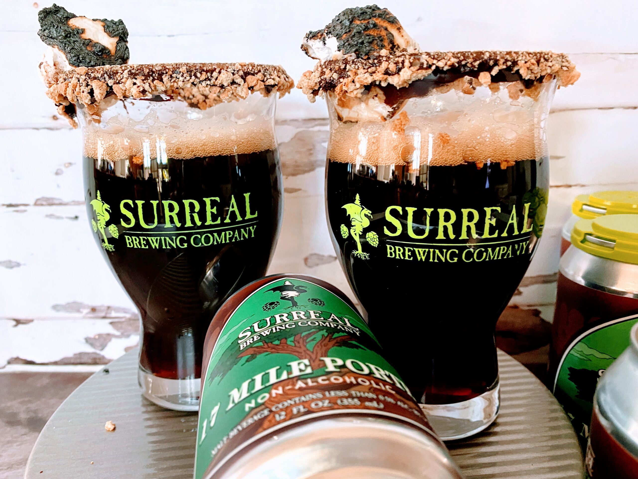 Surreal Brewing S'mores Cocktail
