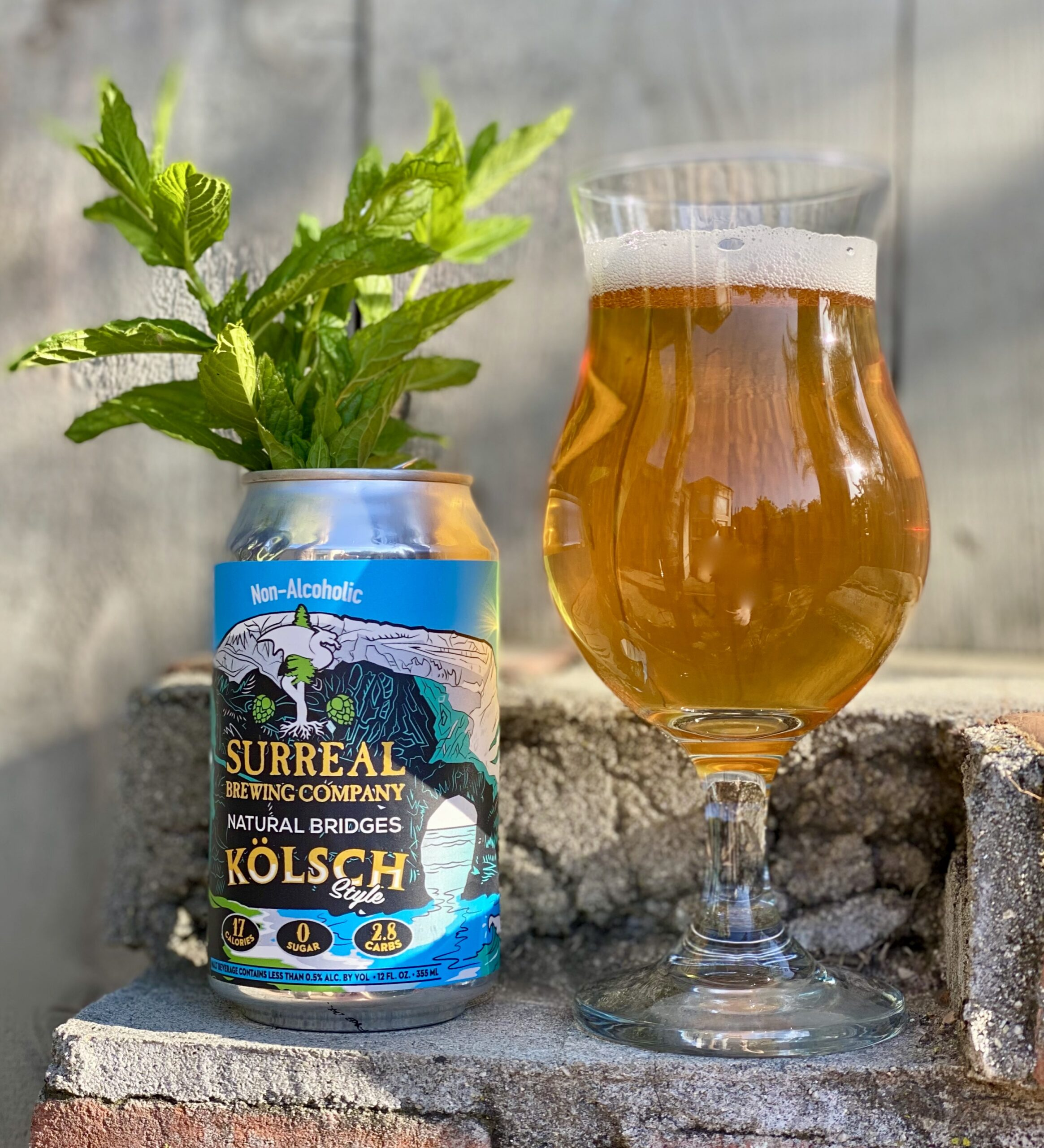 Surreal 17 Calorie Kolsch Non-Alcoholic Beer
