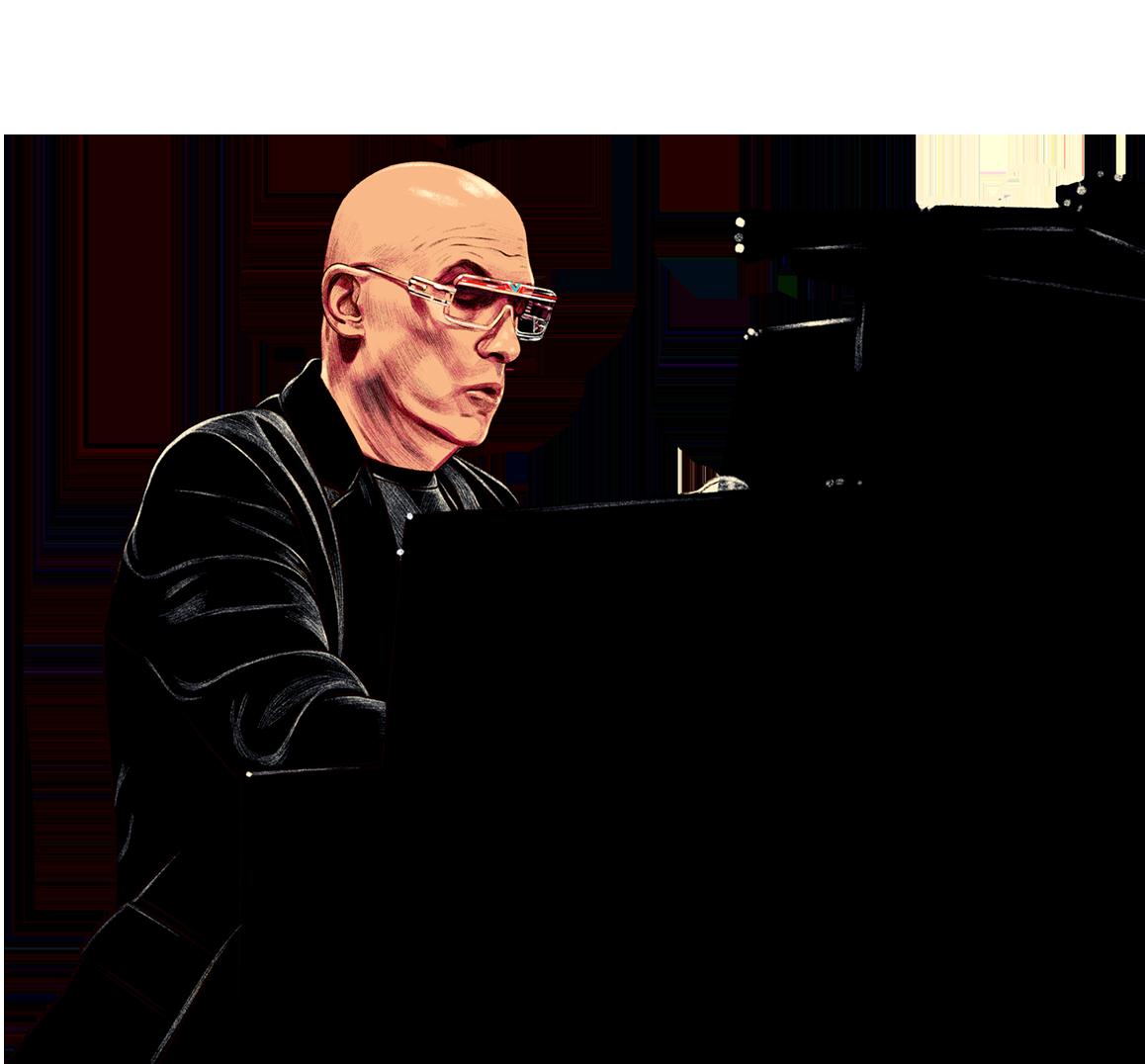 Mike Garson illustration