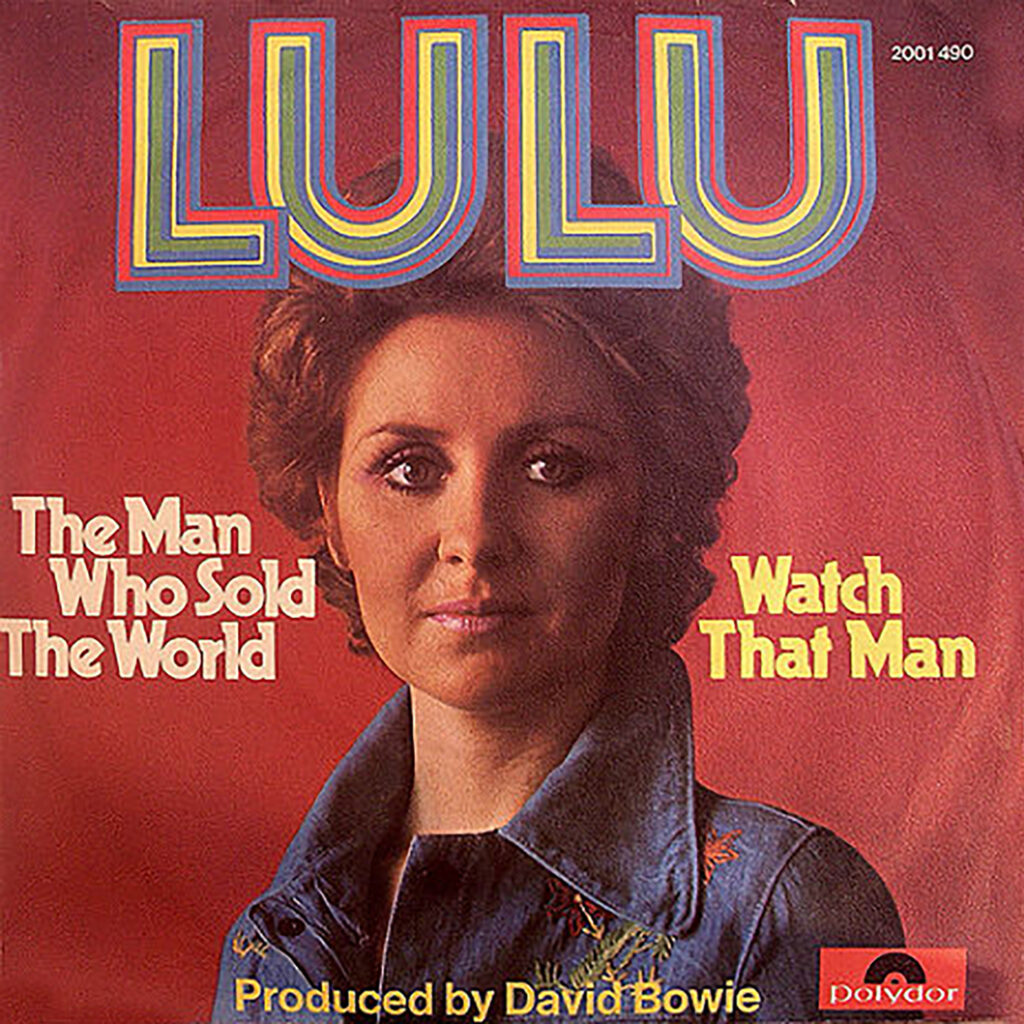 Lulu - The Man Who Sold The World album cover