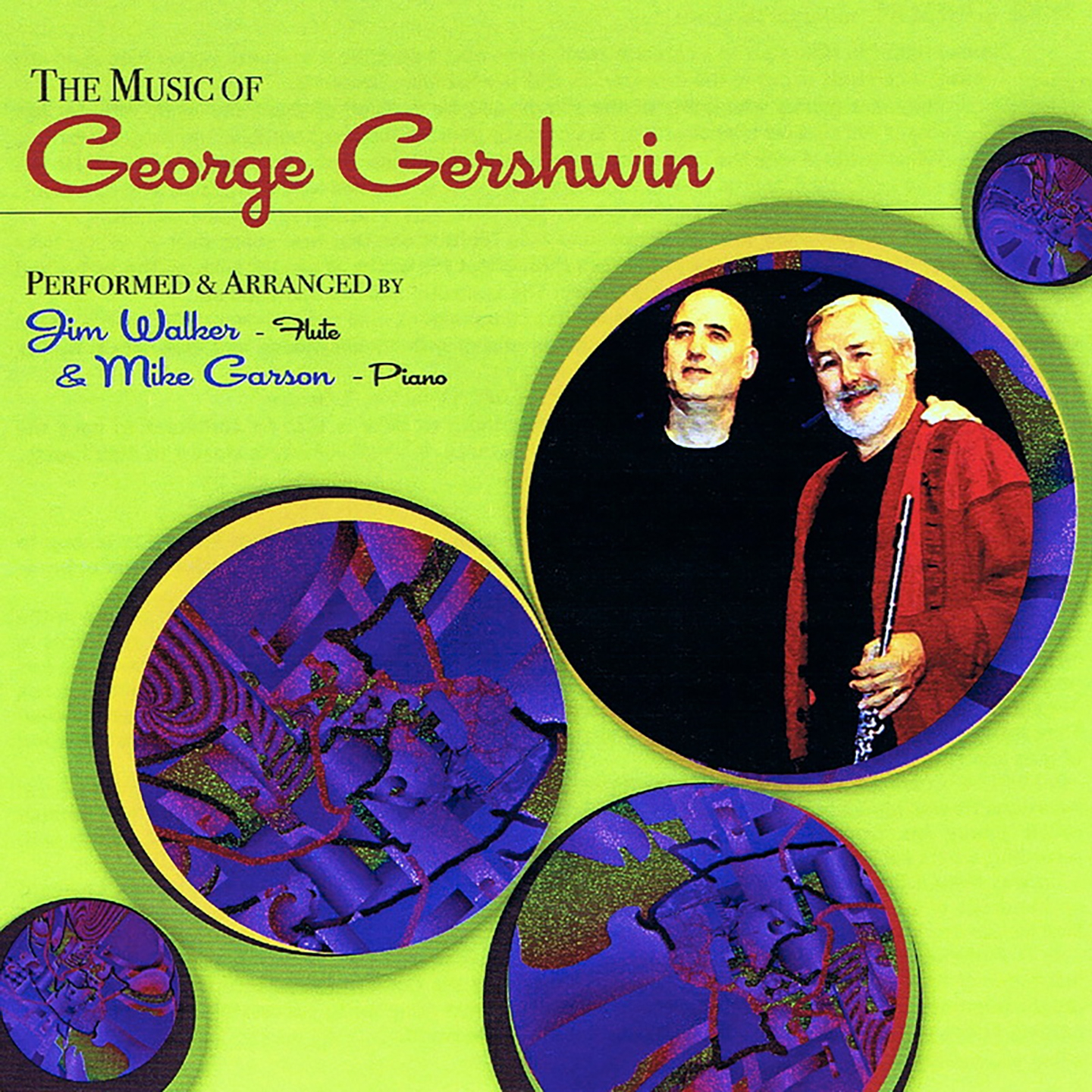 The Music of George Gershwin album cover