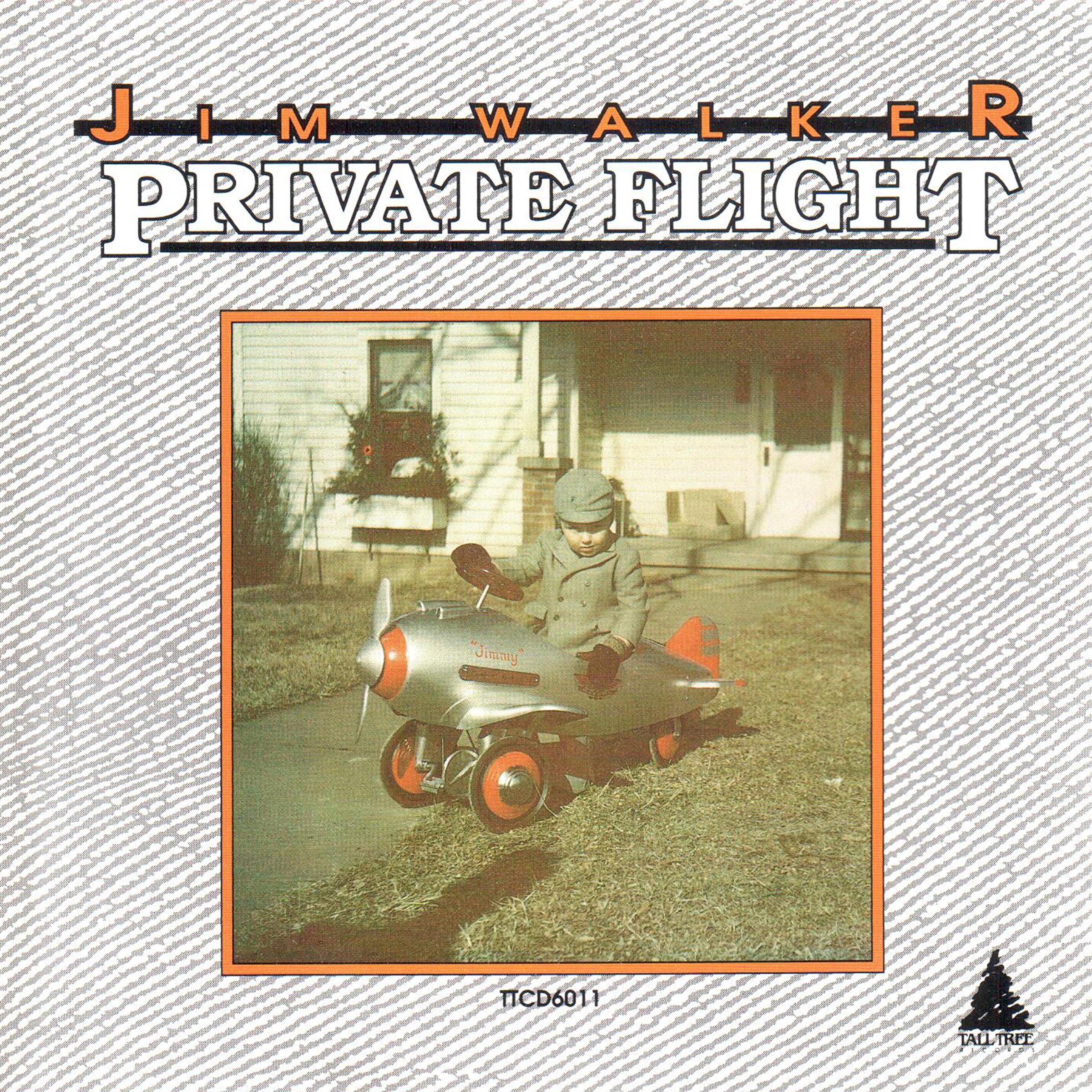 Jim Walker - Private Flight album cover