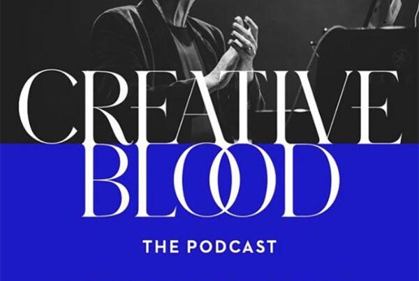 Creative Blood Podcast artwork