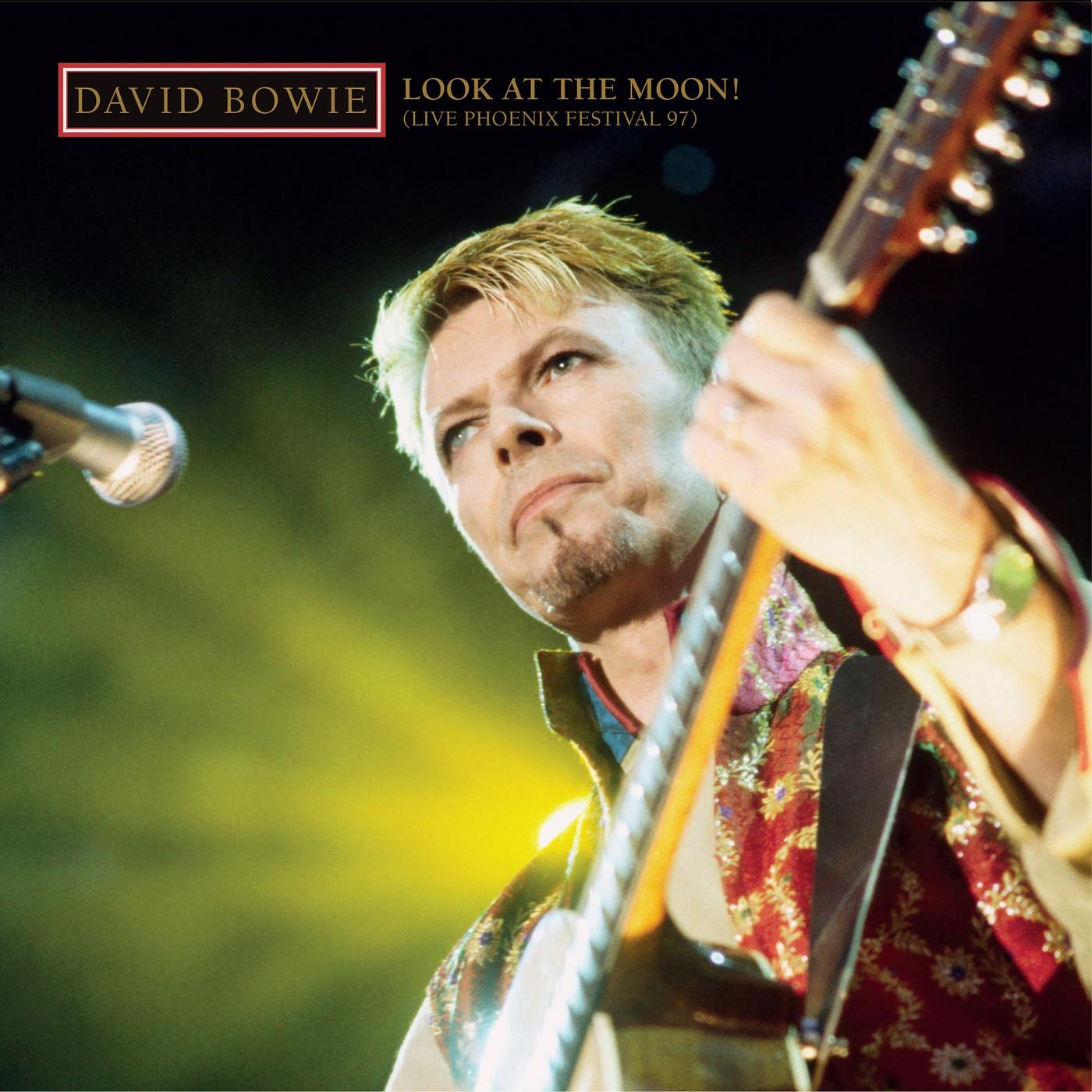 David Bowie - Look At The Moon! album cover