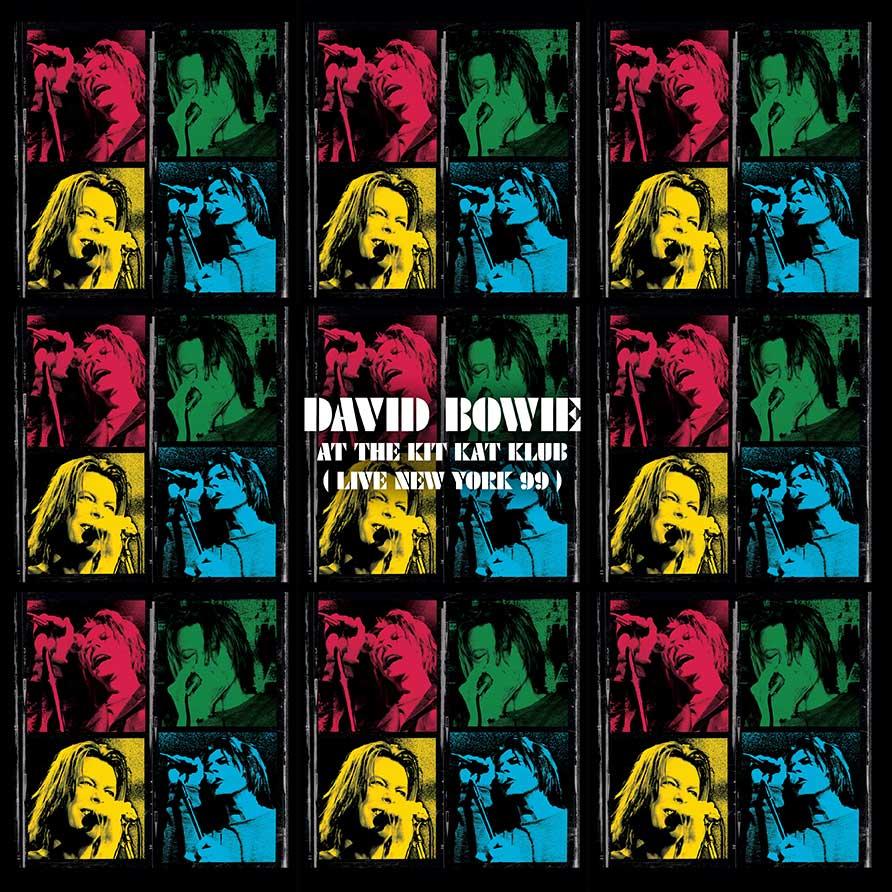 David Bowie - At The Kit Kat Klub album cover