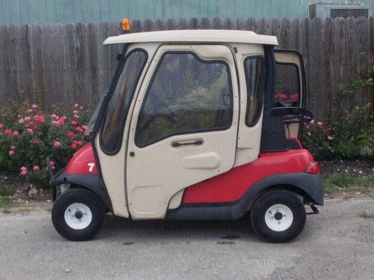 Golf Cart with Curtis Cab