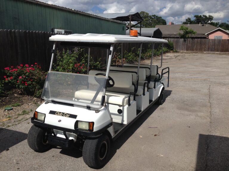Eight Passenger Golf Cart