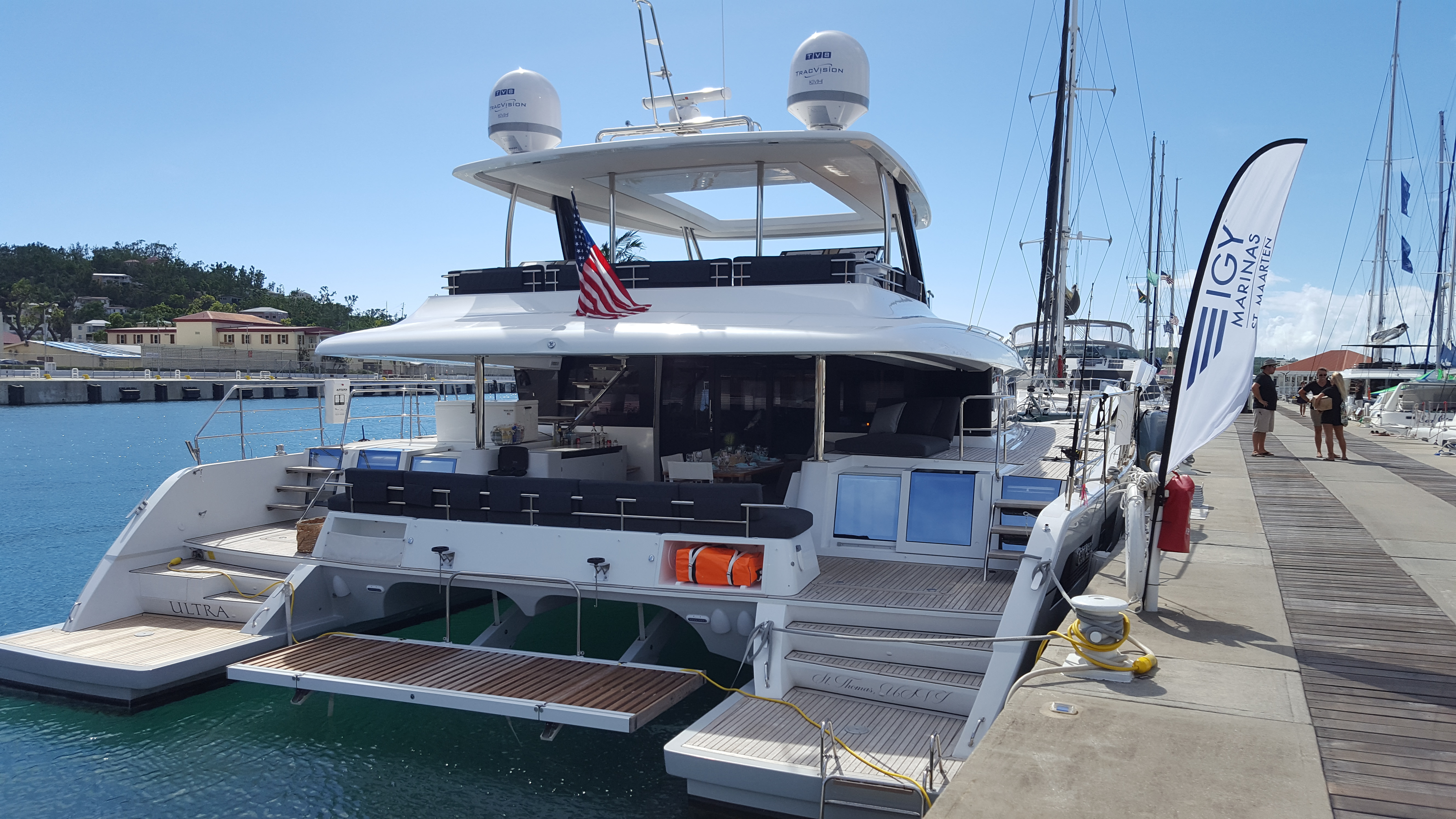 Ultra at the dock