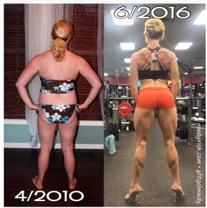 After 4 years of weight training and intentional cardio, my physique really changed!