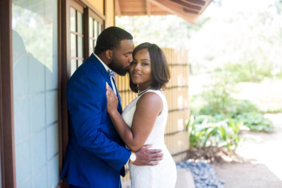 Houston Post-Wedding Portraits w/ Symone and David 4/8/17