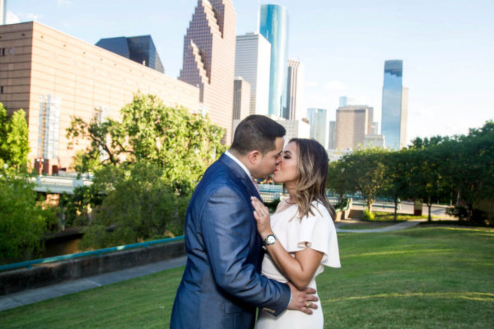 Downtown Houston Engagement Session feat. Priscilla and Fabian 5/12/17