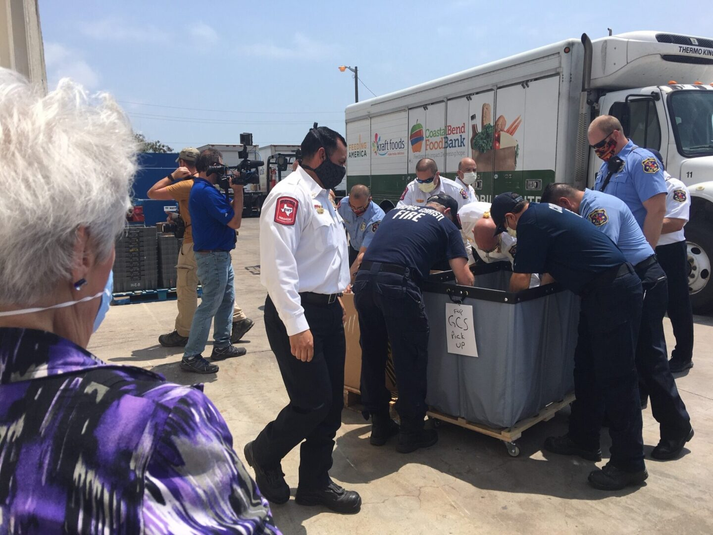 Fire Dept and Food Bank_2020