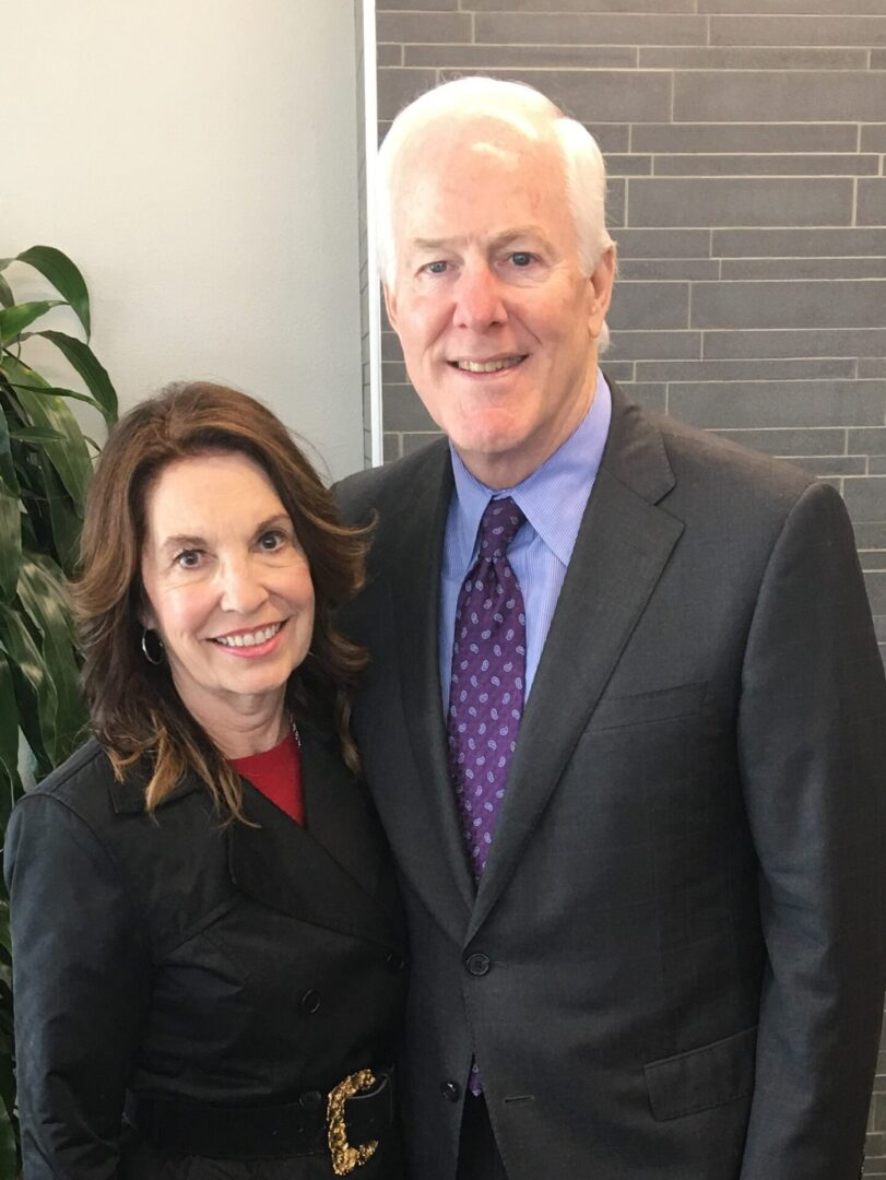 Senator Cornyn and Judy (c78dc7ca-0cab-4c11-b3d9-587b252faee0)