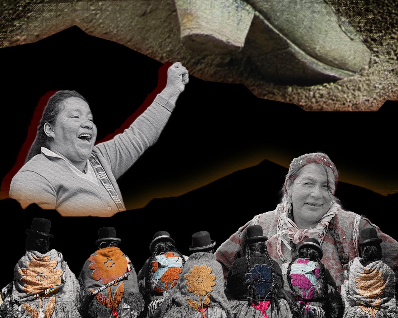 Mujeres de la mina