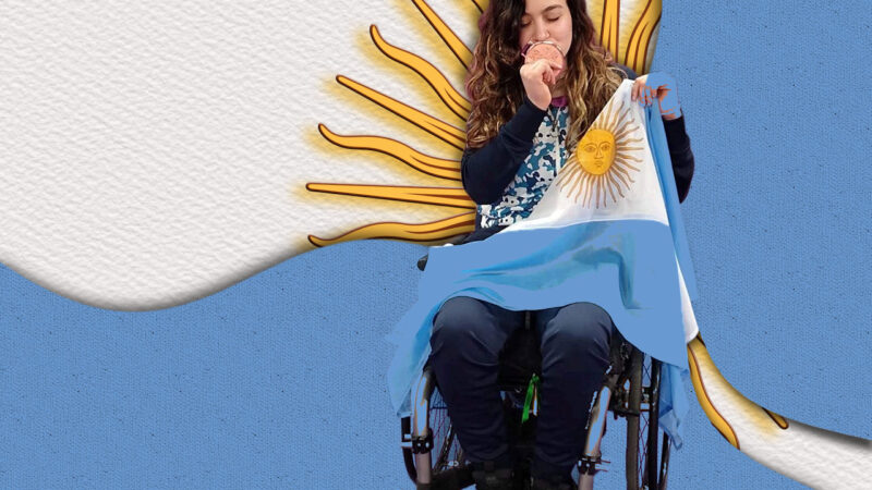 Constanza Garrone, deportista argentina clasificada para Tokio 2021