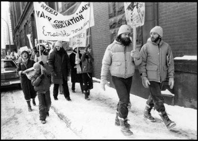 Cégep Vanier teachers strike 1983