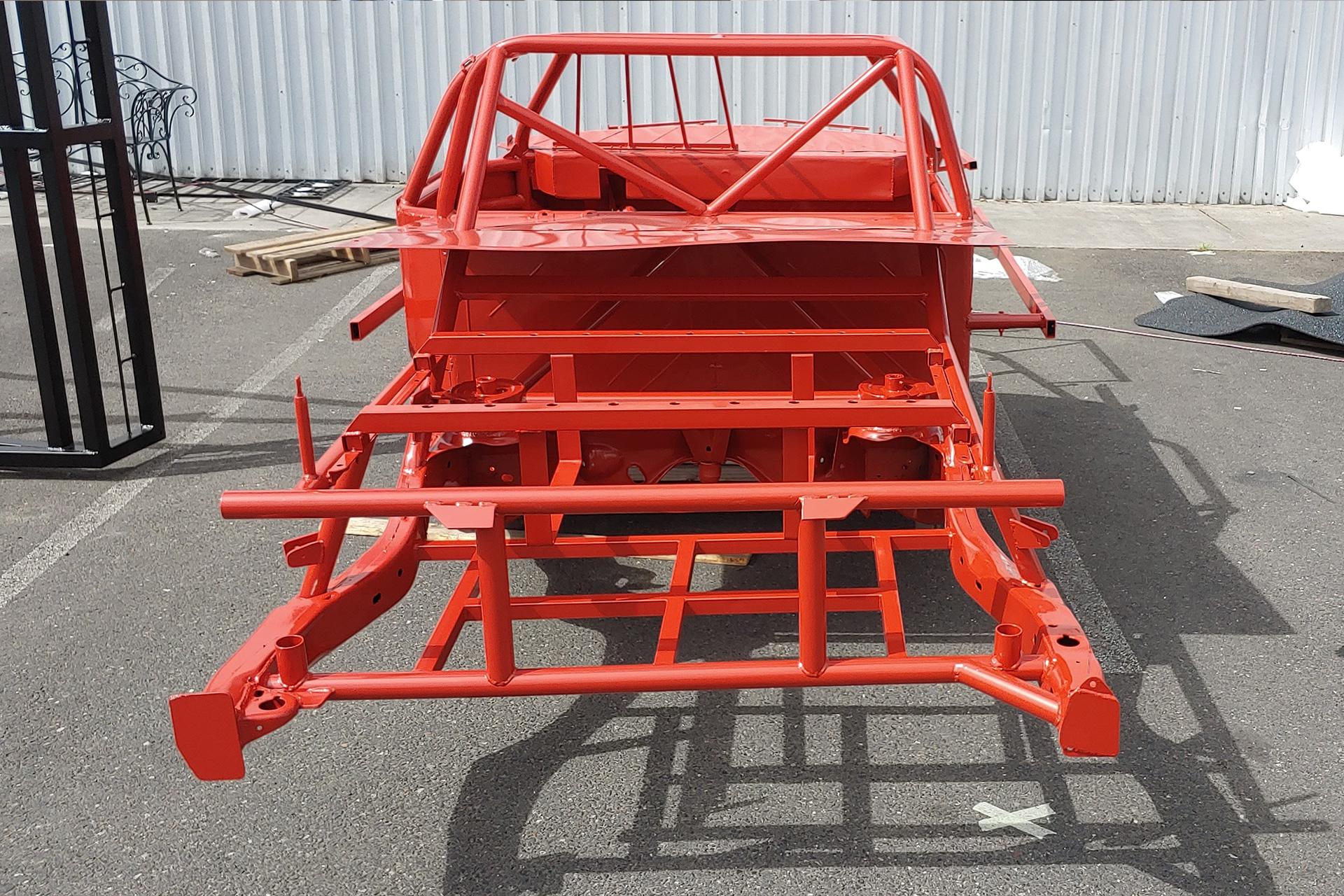 Powder Coated Race Car Frame