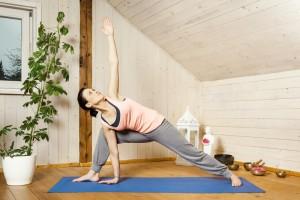 yoga in attic dreamstime