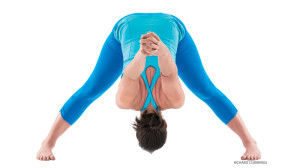yoga bend down