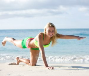 yoga mountainclimber