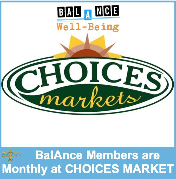 BalAnce at Choices Market @ Choices Market - Kelowna