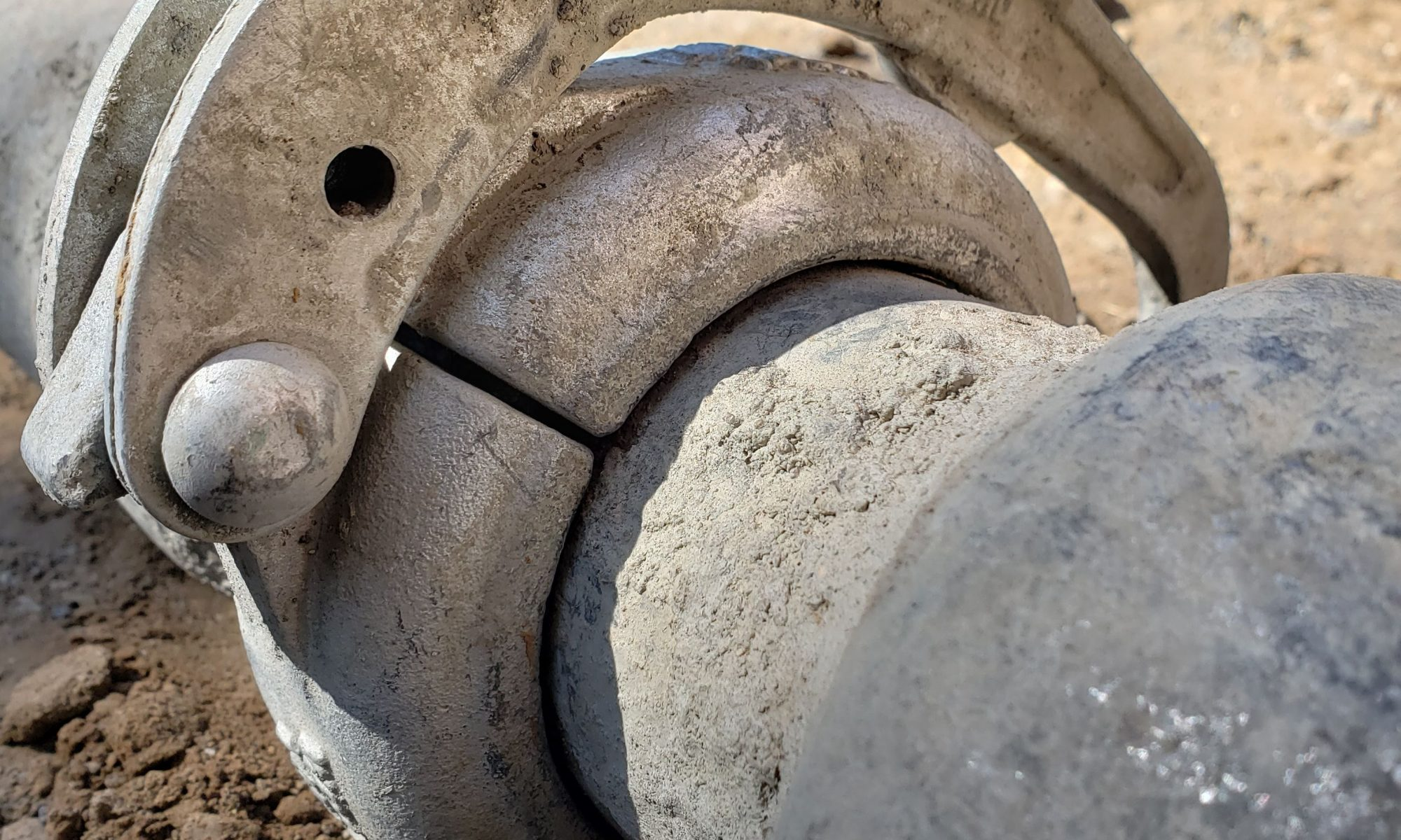 Concrete Line Pump Clamp