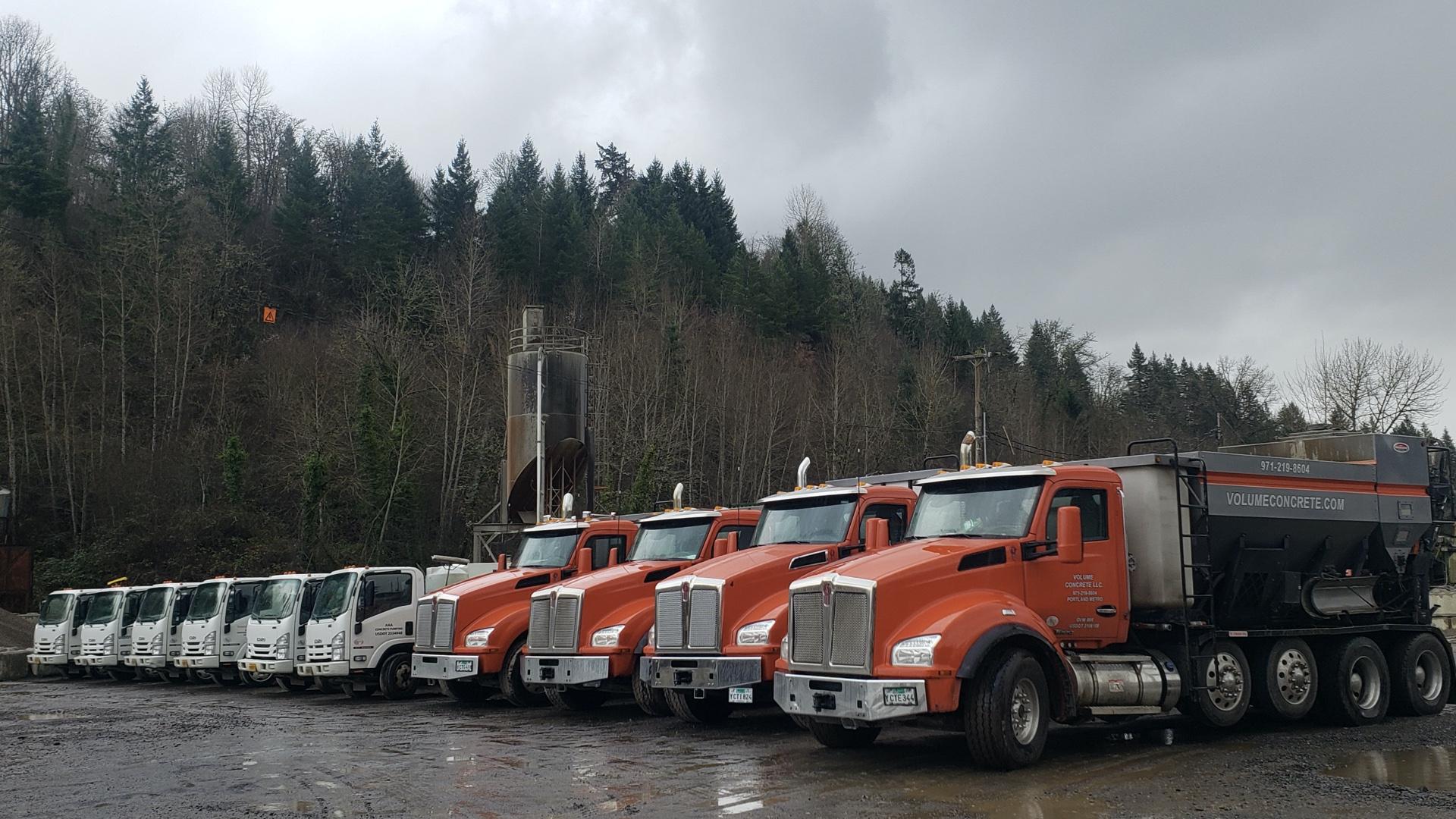 Mixer Truck Fleet