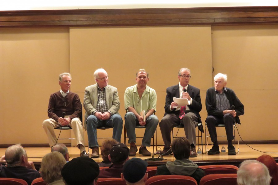 """Panel Q&A from the pasadena premiere of """"Hano!""""."""