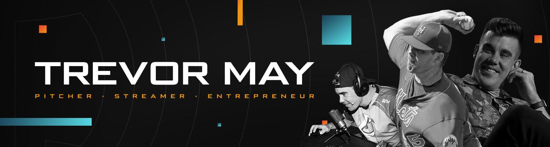 Trevor May Website Header Image