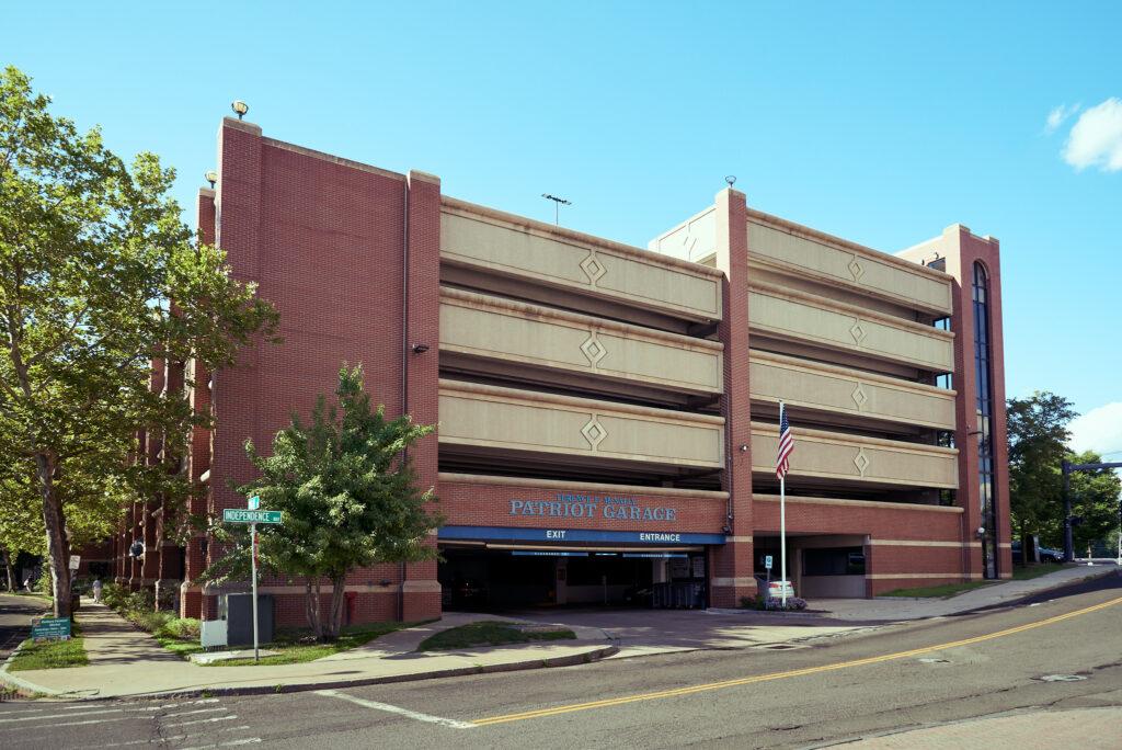 Patriot Garage, Danbury, CT- Danbury Parking Authority