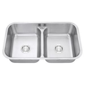 standard 50-50 sink