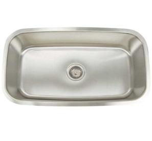 standard 16g full bowl sink