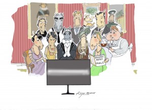 finale of Downton Abbey for Polo Times