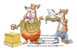 auction fox image fife Hunt