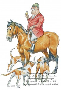 Master of the Hunt stirrup cup Hounds