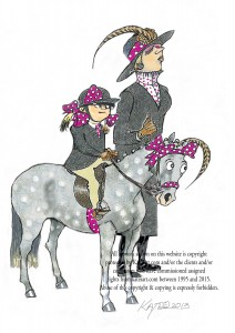 immaculate show pony presentation HOYS