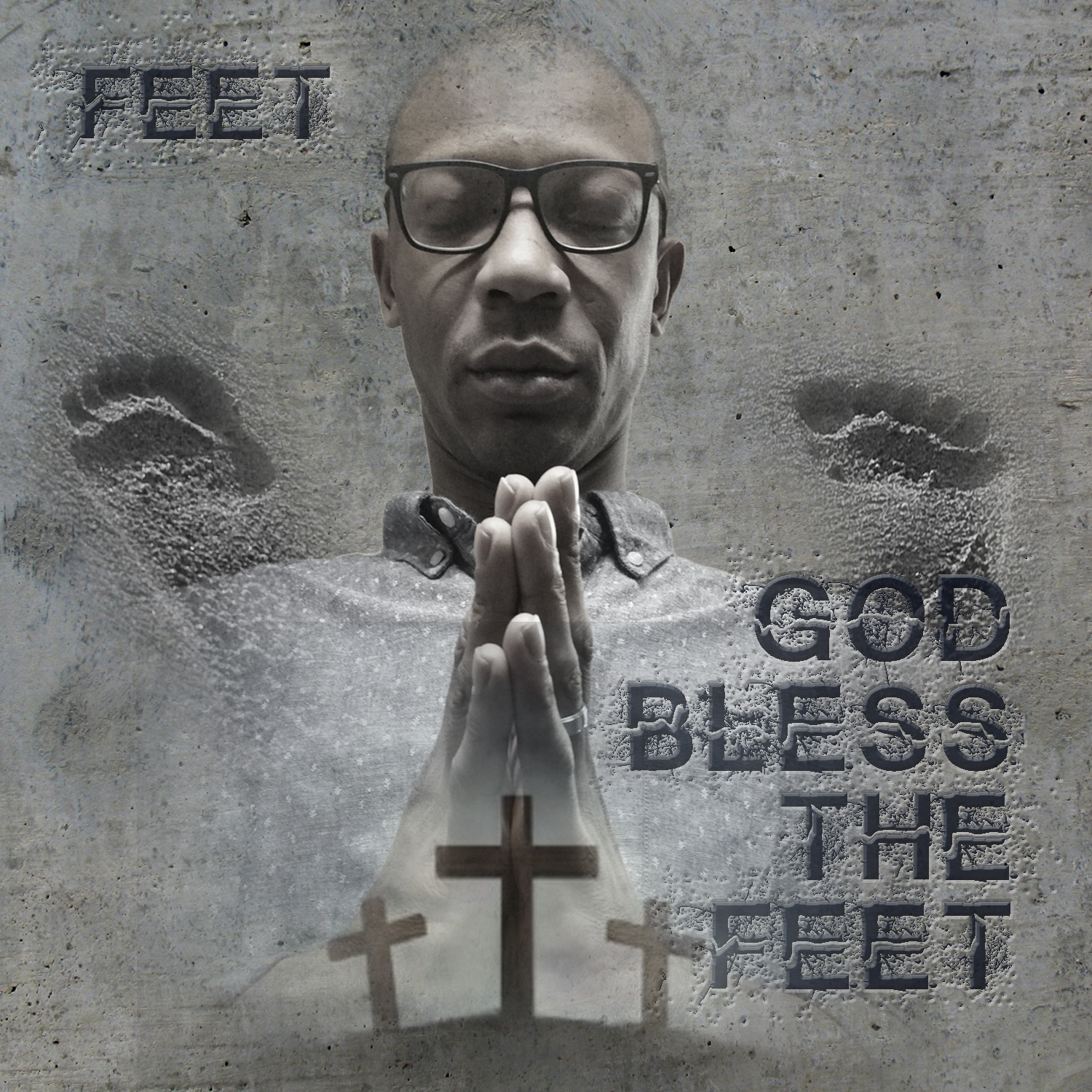 God Bless The Feet -front-cover