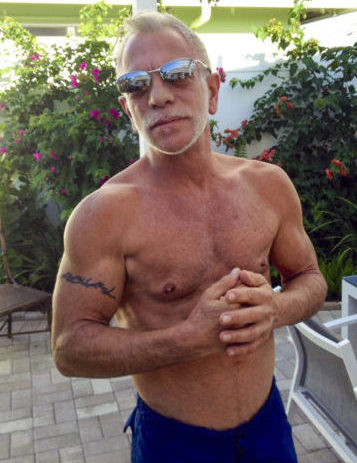 Client John Zoleo six pack abs ripped frontal after picture
