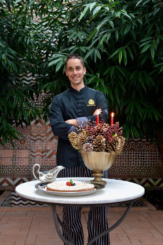 Spain chef Carlos Hortas