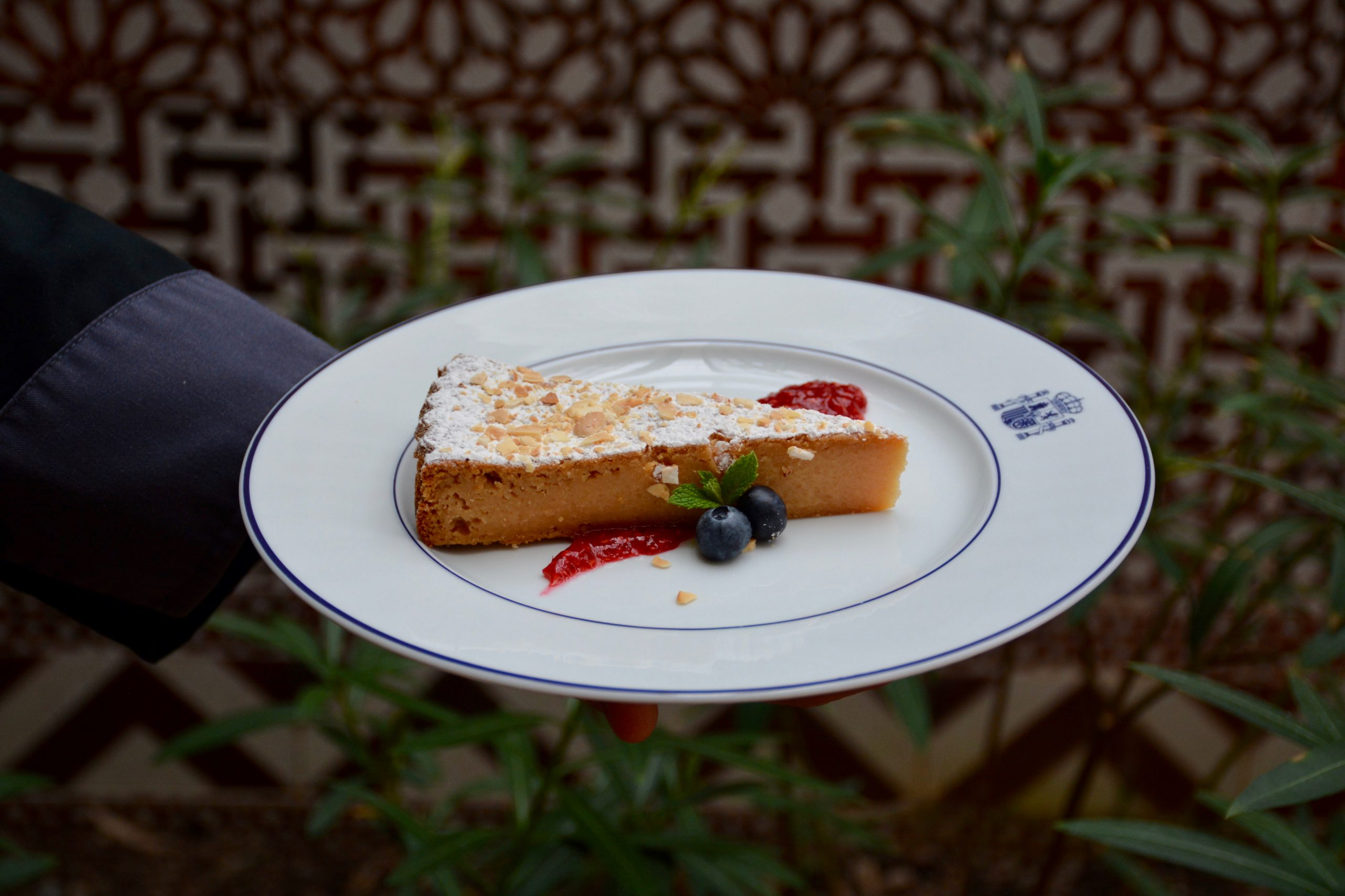 Spain - Almond Pudding Cake