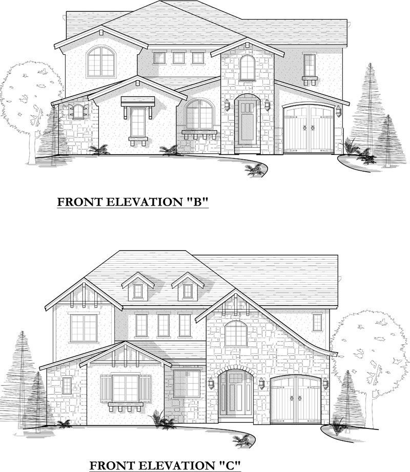eldorado model plan elevation options
