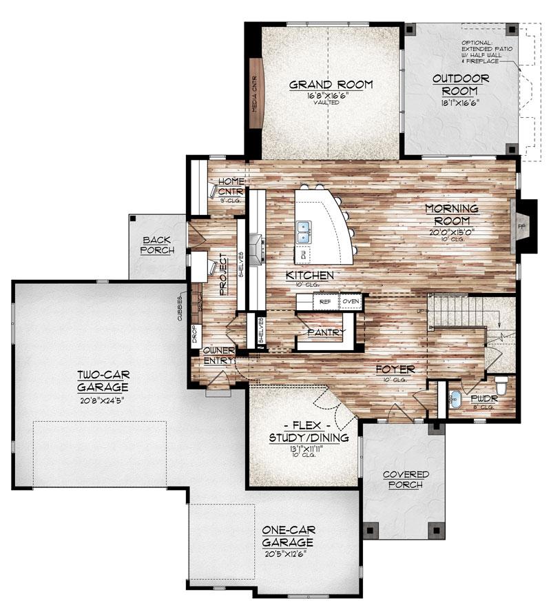 hayden model floor plan