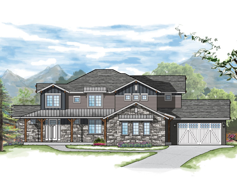 leadville model plan by sopris homes